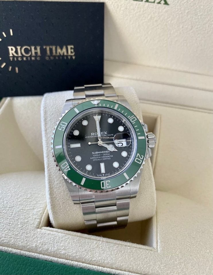 Rolex Submariner Date 126610lv Starbucks 2021 new