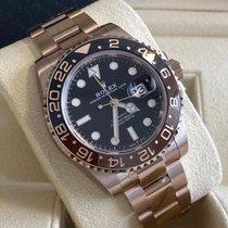 Rolex GMT-Master II 126715CHNR-0001 Νέα Ροζέ χρυσό 40mm Αυτόματη