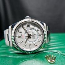 Rolex Sky-Dweller Steel 42mm White No numerals Australia, Randwick