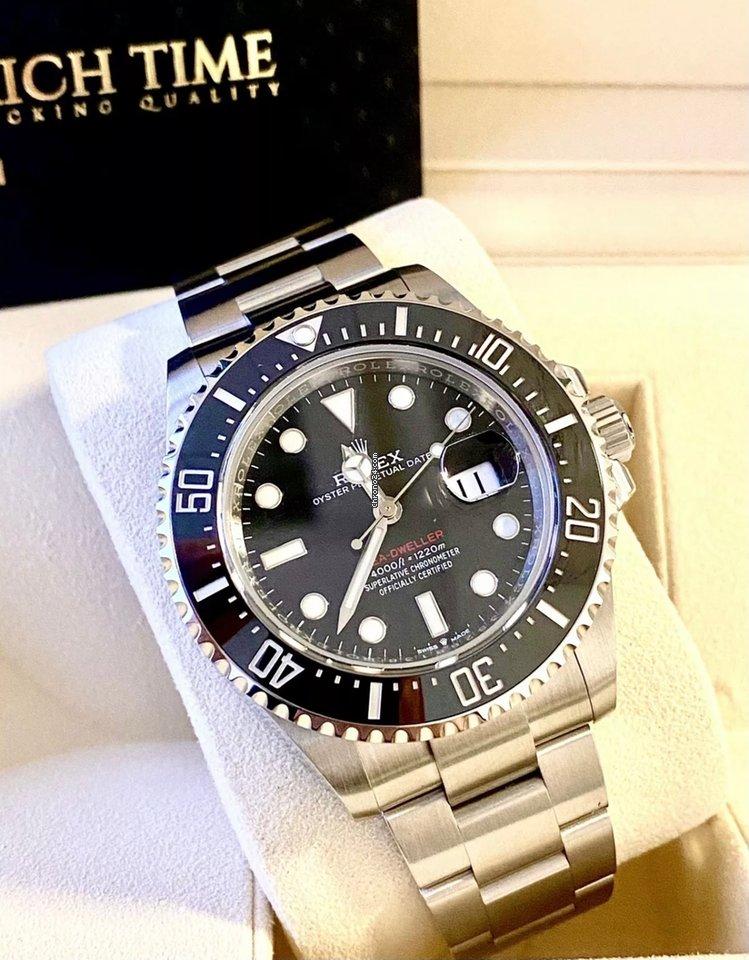 Rolex Sea-Dweller 126600 2021 new
