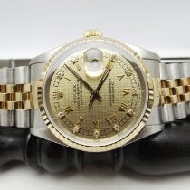 Rolex 16233 Gold/Steel 1991 Datejust 36mm pre-owned