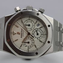 Audemars Piguet Royal Oak Chronograph Staal 39mm Wit Geen cijfers Nederland, Rijnsburg