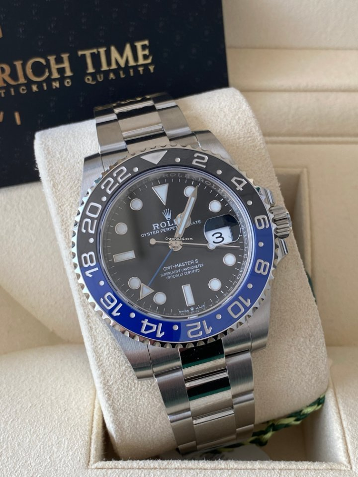 Rolex GMT-Master II 116710BLNR 2021 nou