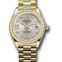 Rolex Lady-Datejust Yellow gold 28mm Silver United States of America, New York, NY