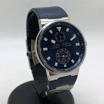 Ulysse Nardin Marine Chronometer 41mm Çelik 41mm Mavi Rakamsız