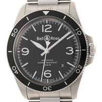 Bell & Ross BR V2 pre-owned 41mm Black Date Steel