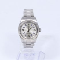 Rolex Oyster Perpetual 26 Steel 26mm Silver Arabic numerals United States of America, New Jersey, HOBOKEN