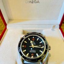 Omega Seamaster Planet Ocean Steel 45.5mm Black Arabic numerals United States of America, North Carolina, Winston Salem