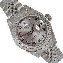 Rolex Lady-Datejust Stal 26mm Srebrny