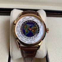 Patek Philippe World Time Желтое золото 38.5mm Белый