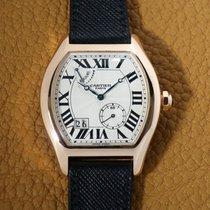 Cartier Ροζέ χρυσό 38mm Χειροκίνητη εκκαθάριση W1545851 μεταχειρισμένο