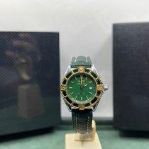 Breitling Lady J Золото/Cталь 31mm Зеленый Без цифр