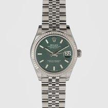 Rolex Stal Automatyczny Zielony 31mm nowość Datejust 31