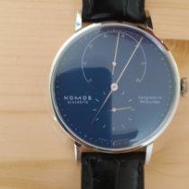 NOMOS Lambda Steel 40,5mm Blue No numerals