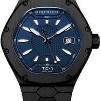 Dietrich Сталь 42mm Автоподзавод Dietrich Time Companion TC-1 PVD-Blue новые