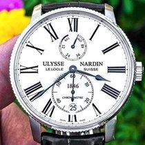 Ulysse Nardin Marine Torpilleur Steel 42mm White Roman numerals United States of America, Texas, Plano
