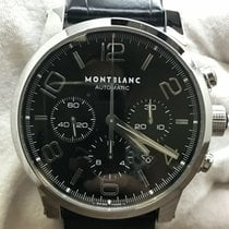 Montblanc Timewalker Steel 43mm Black Arabic numerals United States of America, New York, New York