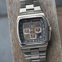 Zenith El Primero Chronograph Staal 40mm Blauw Geen cijfers