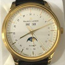 Maurice Lacroix (モーリス・ラクロア) レ・クラシック ムーンフェイズ イエローゴールド 40mm ホワイト