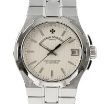 Vacheron Constantin Overseas Chronograph pre-owned 35mm Silver Chronograph Date Steel