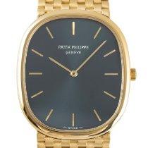 Patek Philippe Golden Ellipse Yellow gold 35.5mm Blue