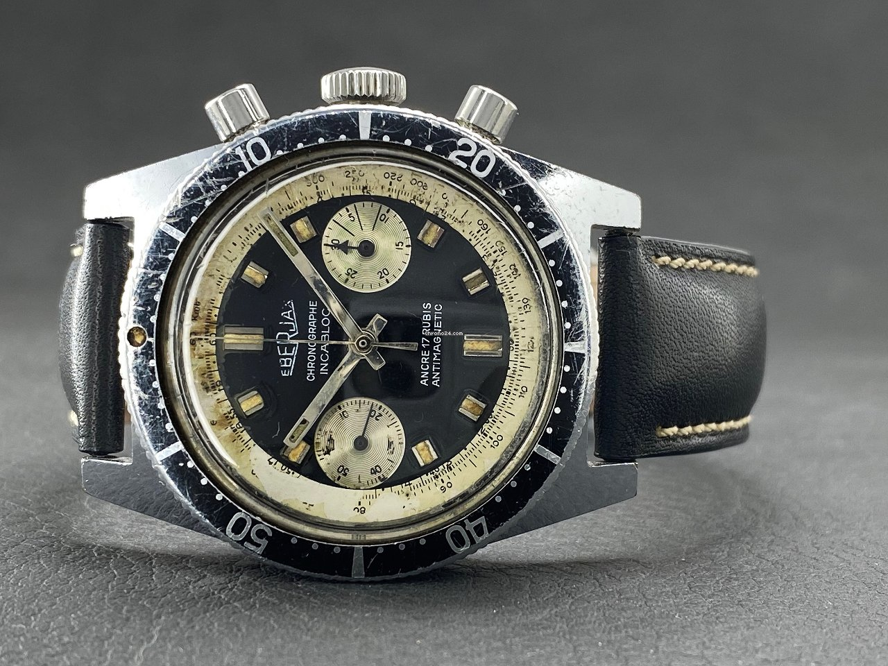 Eberjax Chronographe 17jewels - Landeron 248 | 70's 1970 pre-owned