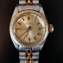 Rolex Oyster Perpetual usado 24mm Ouro Ouro/aço