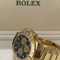 Rolex Daytona Yellow gold 40mm Black No numerals