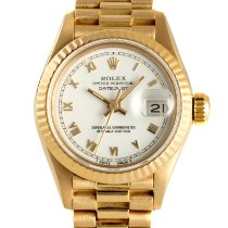 Rolex Lady-Datejust 69178 Very good Yellow gold 26mm Automatic