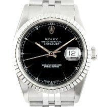 Rolex 16220 Steel 1991 Datejust 36mm pre-owned