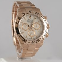 Rolex Red gold Automatic Silver 40mm pre-owned Daytona