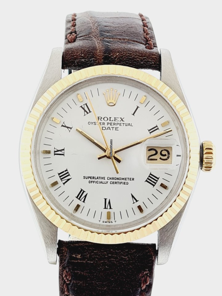 Rolex Oyster Perpetual Date 1500 1979 usados
