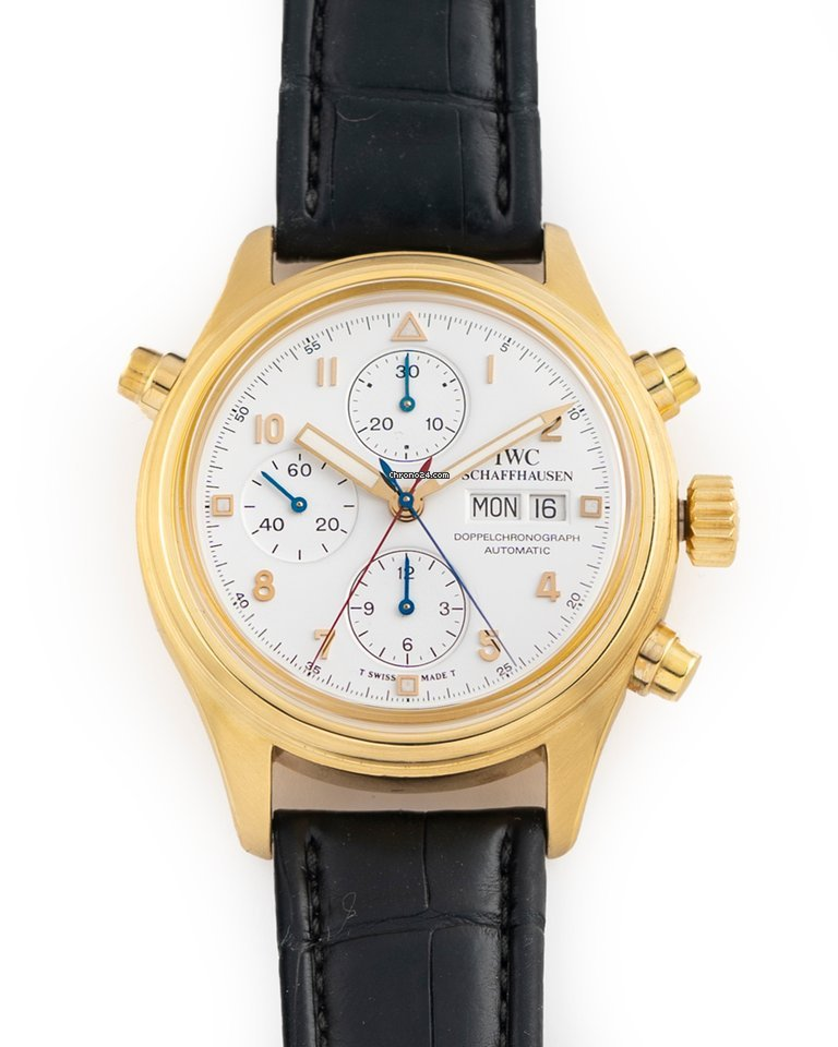 IWC Pilot Double Chronograph IW3711 1995 pre-owned