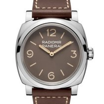 Panerai Special Editions Steel 47mm Brown Arabic numerals United States of America, New Jersey, River Edge