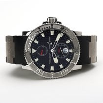 Ulysse Nardin Maxi Marine Diver Steel 42.7mm Black No numerals United States of America, Florida, Aventura