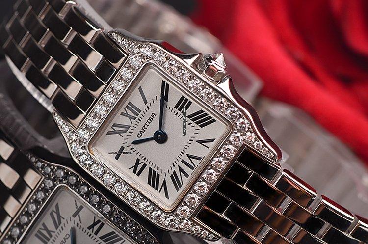 Cartier Santos Demoiselle WF9003Y8 2021 pre-owned