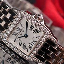Cartier Santos Demoiselle White gold 20mm Silver