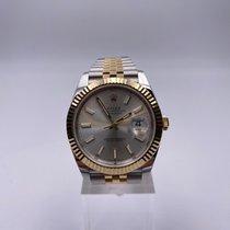Rolex Datejust Gold/Steel 41mm Silver No numerals Australia, Sydney