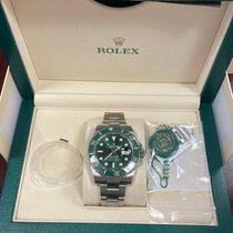 Rolex Submariner Date Steel 40mm Green No numerals United States of America, New York, Brooklyn