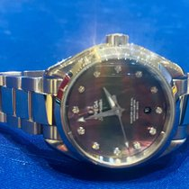 Omega new Automatic Steel Sapphire crystal