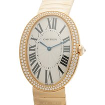 Cartier Baignoire Rose gold 34mm Silver Roman numerals United States of America, New York, New York