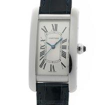 Cartier Tank Américaine nieuw Automatisch Horloge met originele doos en originele papieren WSTA0017