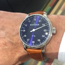 Meistersinger new Manual winding One-hand watches 43mm Steel Sapphire crystal
