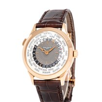 Patek Philippe World Time Rose gold 39mm Silver Arabic numerals United States of America, New York, Hartsdale