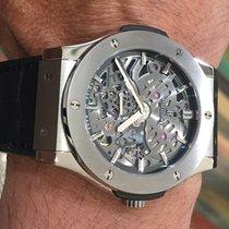 Hublot Classic Fusion Ultra-Thin Titan 45mm Transparent Keine Ziffern
