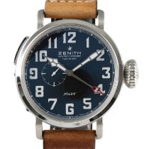 Zenith Pilot Type 20 GMT new 2021 Automatic Watch with original box and original papers 03.2430.693