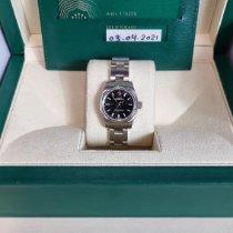 Rolex Oyster Perpetual 26 Stål 26mm Sort Arabertal