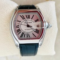 Cartier Roadster W62032X6 Very good Steel 48mm Automatic