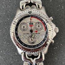 TAG Heuer Link Quartz new 1998 Quartz Chronograph Watch with original box and original papers CG1117.BA0423