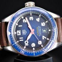 TAG Heuer Autavia Steel 42mm Blue Arabic numerals